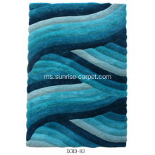 Microfiber Shag With Design 3D