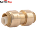 GutenTop Sharkbite Lead Free Quick Connect Brass Push Fit Fittings