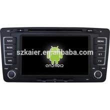 Зеркало-ссылка на Android 4.4 ТМЗ видеорегистратор 1080p двухъядерный автомобиль Центральный мультимедиа для Шкода Octavia с GPS/Bluetooth/ТВ/3Г