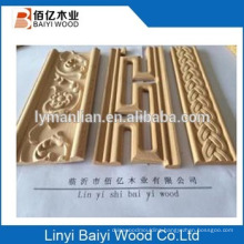 moulding trim strip line furniture use beech wood moulding