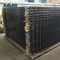 muro de valla de valla de aluminio horizontal