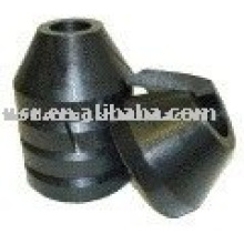 Oilfield rubber Cone Gold Flake Split Packing
