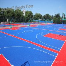 Revestimento de bloqueio dos esportes dos PP baratos profissionais internos / exteriores para o campo de básquete