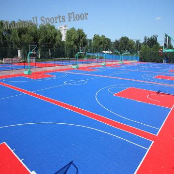 PP Interlock Floor para canchas deportivas de interior y exterior