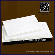 P & T chaozhou usine de porcelaine haute température plaque, vaisselle, dîner set