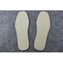 Oem Grey, Beige Or Custom Winter Warm Wool Felt Insoles / Shoes Pad