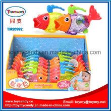 2016 verão colorido feliz Fuuny Baby Fish Bath Toy
