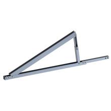 Supports de toit plat solaires réglables en aluminium