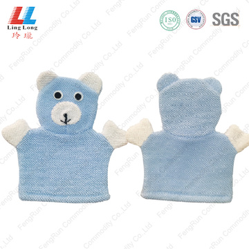 High quality massage bath gloves