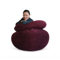 MENGZAN Living Room Bean Bag Puff Seat