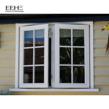 fenêtre à battants en aluminium fenêtre en aluminium couleur bronze