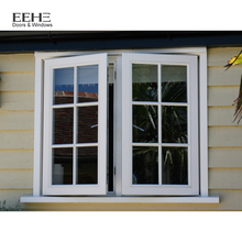 import aluminium casement window aluminium bronze color window