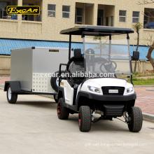 EXCAR 4 Seater electric golf cart cheap golf cart for sale golf cart trailer