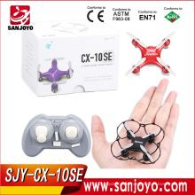 Cheerson CX-10 Versão de Atualização SJY-CX-10SE Mini Drone 4CH 6-eixos 3D Flips RC Quadcopter Com Luzes LED RTF Quadcopter