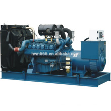 75kw Shangchai engine generator with canopy type power by SC4H115D2 engine model