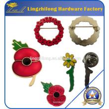 Erinnerungstag einsame Soldat Poppy Pin Badge