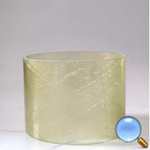 Tubo de fibra de vidrio transparente epoxi