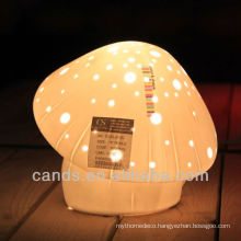 Porcelain Mushroom Desk Lamp For Kids