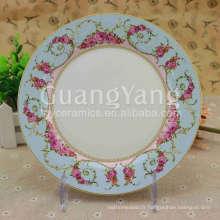 Différentes belles fleurs imprimant la plaque de mélamine faite sur commande de porcelaine