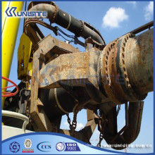 Dobradiça dupla de aço personalizado para o sistema de tubos de sucção na draga TSHD (USC8-005)