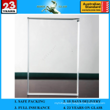 3-19mm Ultra Extra Clear Low Iron Float Glass Sheet