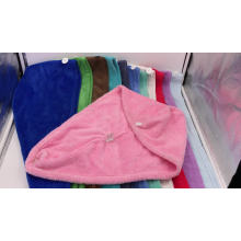 Microfiber Hair Wrap Towel Drying Bath Spa Head Cap Turban Wrap Twist