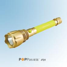 Lampe torche LED rechargeable haute puissance CREE Xm-L U2 (POPPAS-F31)