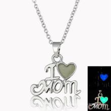 Новая модель Я люблю Mom Design ожерелье Мода Teen Девушки Big Fashion ожерелье