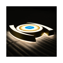 China Manufacturer Customized Illuminated Advertising Signs Mini Acrylic LED Letters Business Billboard Sign