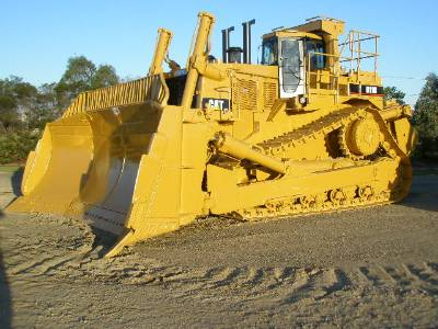 Cat Dozer Crawler Bulldozer