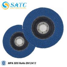 T 27 / T 29 Zirconium Alumina Oxide Revestido Abrasivo Disc Flap