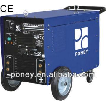CE soldador de AC / DC con las ruedas 250/300/400 / 500amp modelo B / máquina industrial / máquina de soldadura portátil barata precio / soldadura