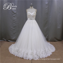 SL609 Hot Sale Pretty Sweetheart Ball Gown Wedding Dress 2016