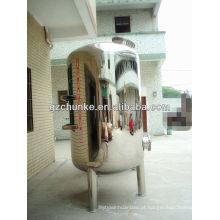 Tanque de armazenamento de água quente de aço inoxidável para planta de purificação de água