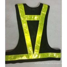 Reflective Sport Vest with High Luster Crystal Tape (DFV1040)