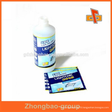 Gravure printing customized PVC shrink wrap bottle seal with logo design