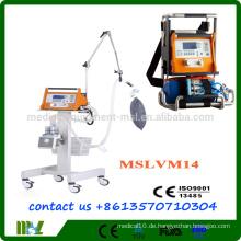 2016 Neue Ankunft !! MSLVM14 Protable Ventilator Maschine Ventilator Maschine Preis