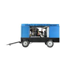 Compressor de ar diesel portátil Atlas Copco Liutech 1250cfm 30bar