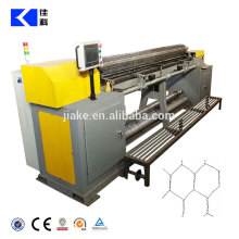 CNC straight and reverse hexagonal wire netting machine price