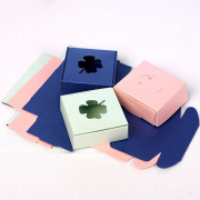 Hollow Out Paper Packaging Box for Ring Soap