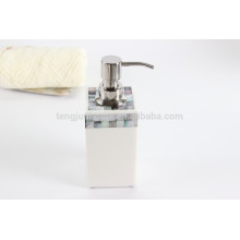 Black MOP Shell Liquid Soap Dispenser for Home Supplies
