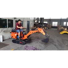 Mini-escavadeira chinesa de 0,8 toneladas