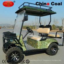 2 + 2 Sièges Électrique Gaz Buggy Golf Sightseeing Car