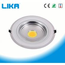 Круглый стеклянный светодиодный светильник мощностью 12 Вт