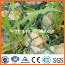 80*100mm top Quality Green PVC Coated Gabion Basket / Gabion Box Factory