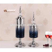 Vintage Roma moderna decoración del hogar piezas de vidrio estatua de cristal decorativo