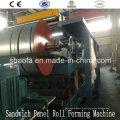 Línea de maquinaria EPS / Rock Wool Panel (AF-R1025)