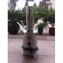 stainless steel electric heating distilling apparatus water distiller commercial