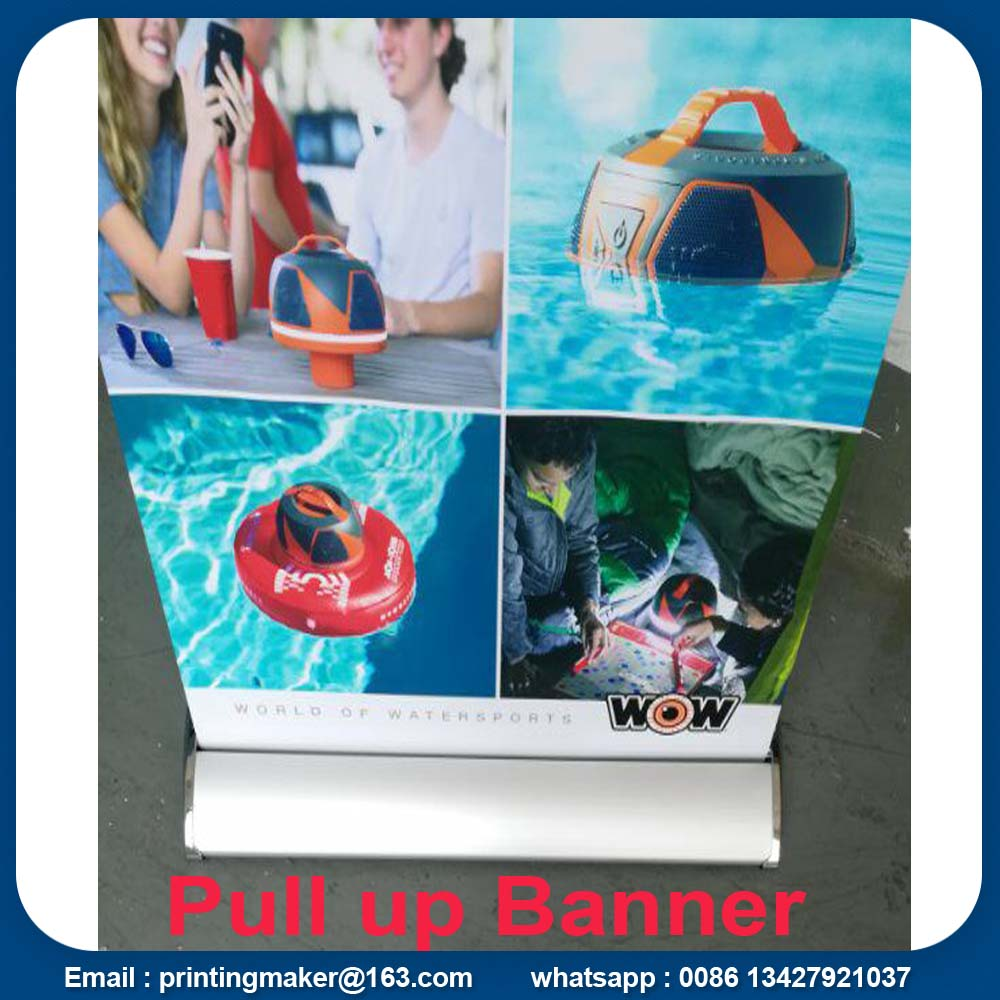 Banner roll up alluminio 85x200 cm