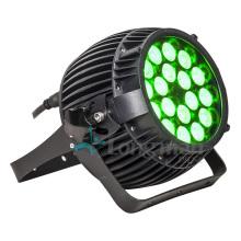 Supre Bright 18PCS 10W Full RGBW Outdoor LED Spot Light